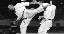 Kumite tradicional. Defensa Hachidan