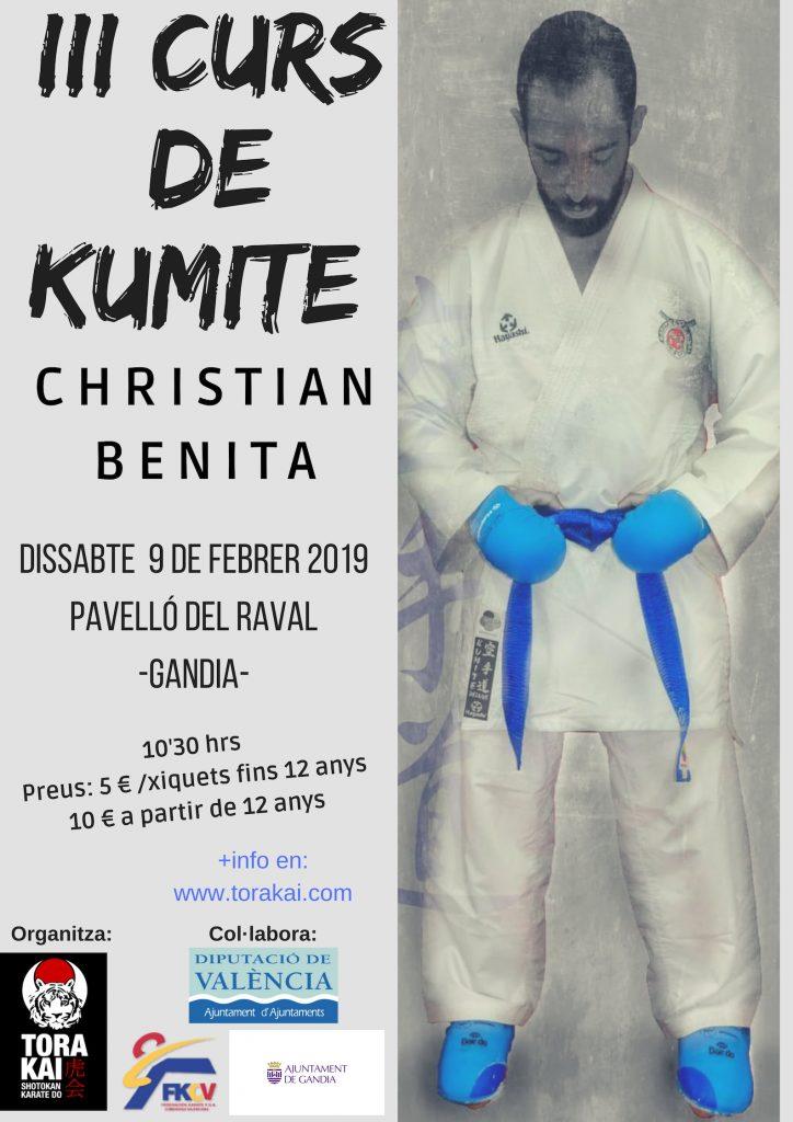 III Curs de Kumite, Gandia