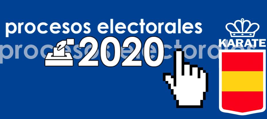 Elecciones RFEK 2020