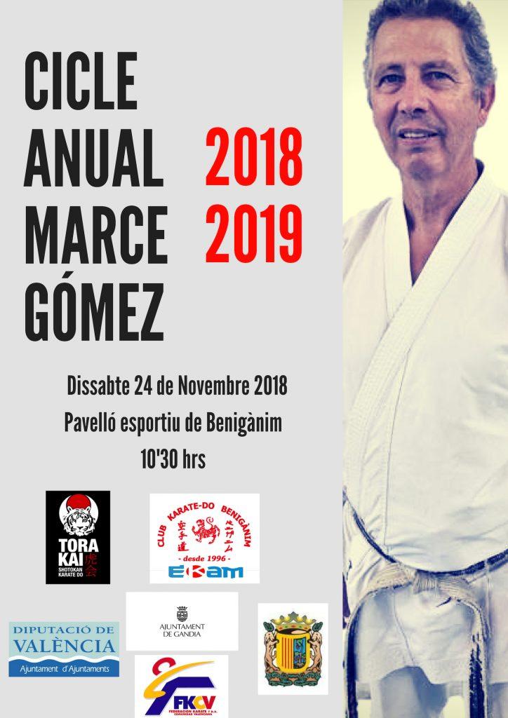 Cicle Anual Marce Gómez, 18/19
