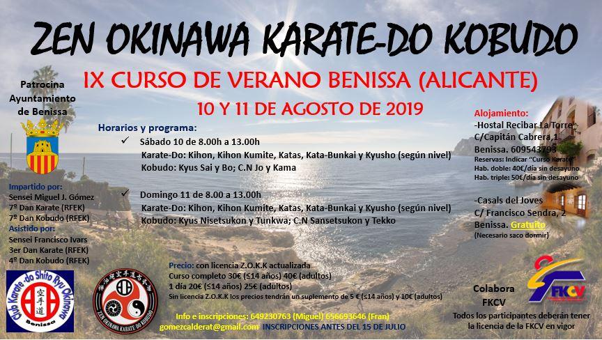Curso Zen Okinawa agosto