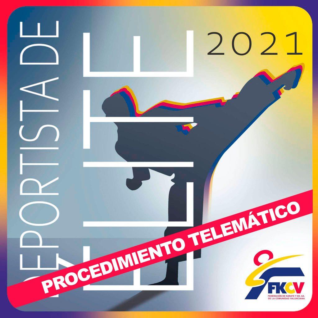 Solicitud Deportistas de Élite 2021. ¡¡nuevo procedimiento!!