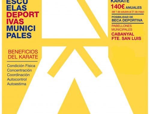 Esculeas de Karate FKCV