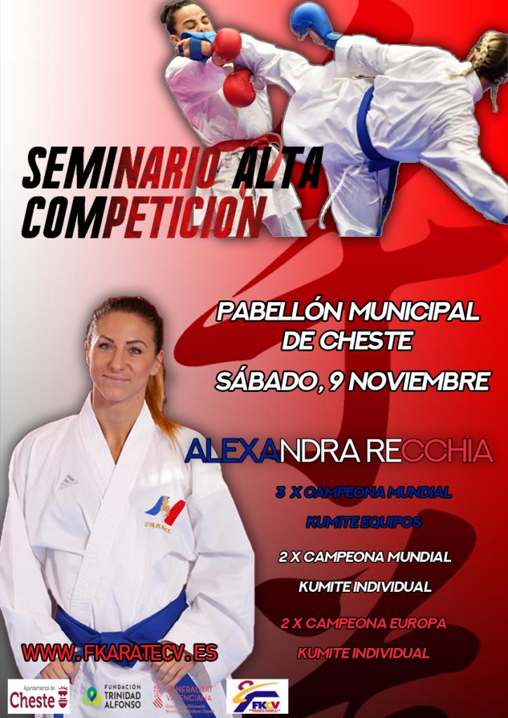 SEMINARI ALTA COMPETICIÓ 2019 – ALEXANDRA RECCHIA