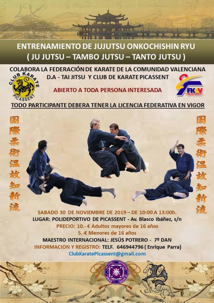 Entrenament de Jujutsu Onkochishin Ryu